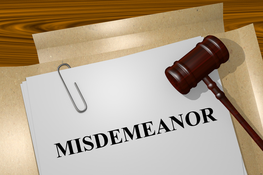 Understanding Misdemeanor Crimes in Oregon