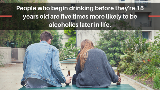 Consequences of Underage Drinking in Oregon