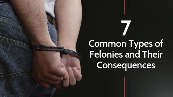 7 Common Types of Felonies and Their Consequences