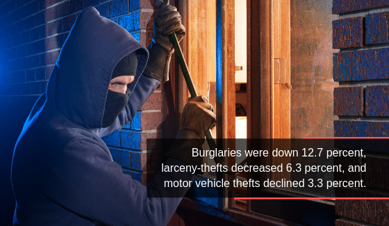 Five Common Types of Property Crime You Should Know
