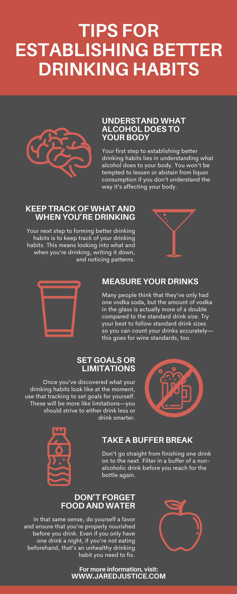 Tips for Establishing Better Drinking Habits